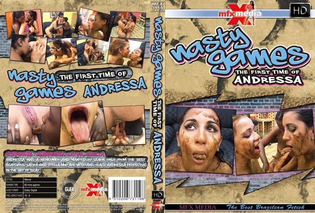 1st Time of Andressa - Nasty Games | 2017 | SD | 388 MB
