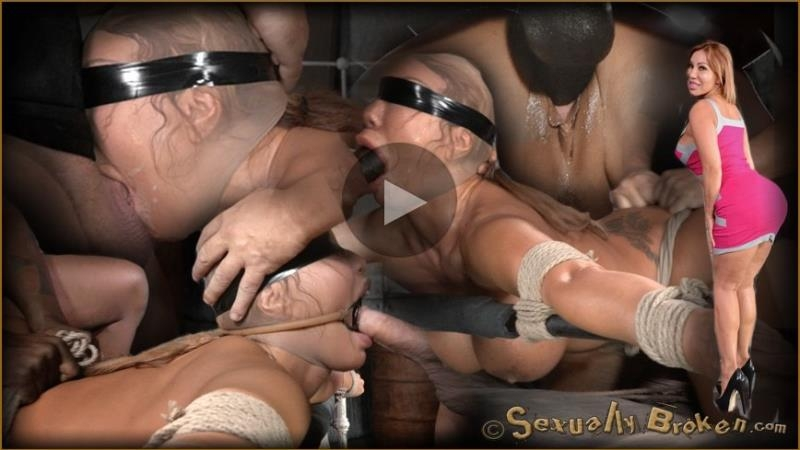 Giant titted MILF Ava Devine blindfolded bound and fucked roughly by 2 cocks, filled and creampied! - Ava Devine, Matt Williams, Jack Hammer | SexuallyBroken | 2014 | HD | 665 MB
