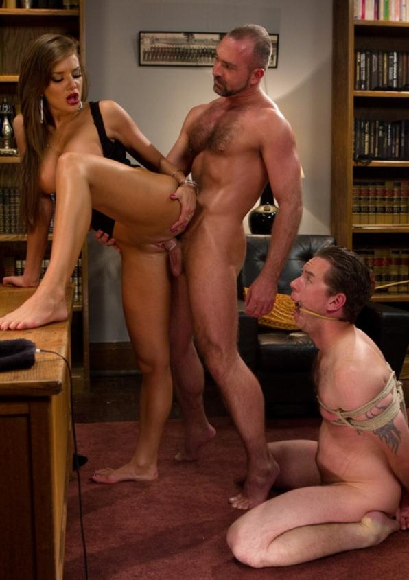 Sadistic wife cuckolds husband with tantric sex specialist. - Nika Noire, Josh West, Vern Hopkins | DivineBitches | 2011 | HD | 489 MB