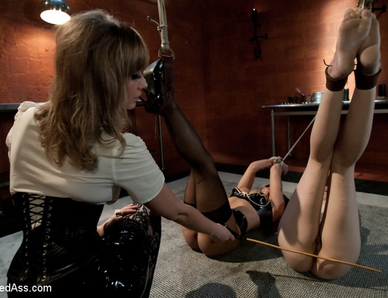 Hot Lesbian Punishment and Sex! - Maitresse Madeline, Lilla Katt, Krystal Main | WhippedAss | 2010 | HD | 761 MB