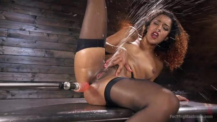 Daisy Ducati - Ebony Squirt Queen Daisy Ducati Gets Royal Fucking Machines Treatment! - Daisy Ducati | FuckingMachines, Kink | 2017 | SD | 441 MB