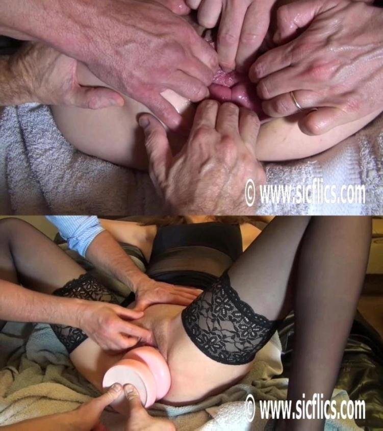 Gang bang double fisting - Queen Eva | Sicflics | 2017 | HD | 373 MB