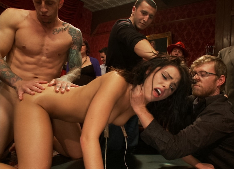 21 yr old Hottie Submits to Hard Fucking and Humiliation - Adriana Chechik | Kink | 2013 | HD | 1.17 GB