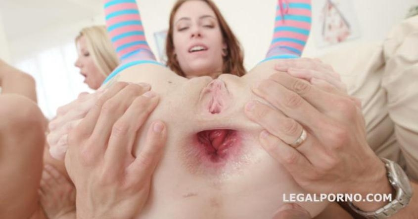 Some Kind of Monsters Anna De Ville Vs Lara De Santis Total Balls Deep with Anal Fisting. No Pussy / DAP / ATOGM GIO501 - Anna De Ville, Lara De Santis | LegalPorno | 2018 | SD | 947 MB