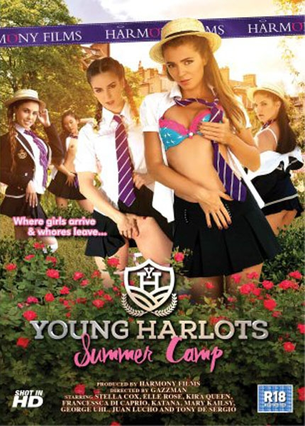 Young Harlots: Summer Camp - Stella Cox, Kira Queen, Francessca Di Caprio, Elle Rose, Mary Kailsy, Katana, George Uhl, Juan Lucho, Tony de Sergio | Harmony Films | 2017 | FullHD | 1.20 GB
