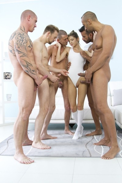 Gina Gerson 5on1 mini gangbang & double penetration SZ1354 - Gina Gerson | 2017 | SD | 1.02 GB