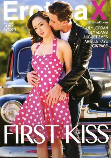 First Kiss - August Ames, Gia Page, Lily Jordan, Lily Adams, Arielle Faye | Erotica X | 2017 | SD | 946 MB