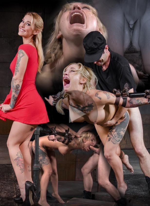 Toned and tattooed Kleio Valentien belt bound and destroyed with drooling deepthroat and rough sex! - Kleio Valentien | SexuallyBroken | 2016 | HD | 822 MB