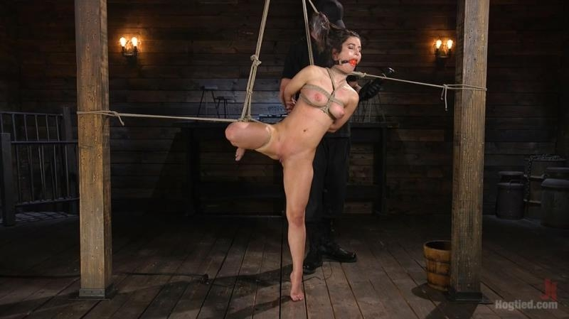 Serena Blair - Girl Next Door Serena Blair Restrained and Made to Cum in Rope Bondage - Serena Blair, The Pope | Hogtied, Kink | 2017 | HD | 1.86 GB