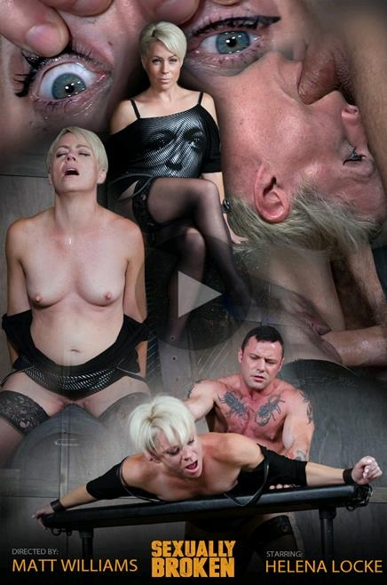 Oct 23, 2017: Helena Locke loves being stuffed full of hard cock! Brutal throat fucking, crying and begging - Helena Locke | SexuallyBroken | 2017 | HD | 1.59 GB