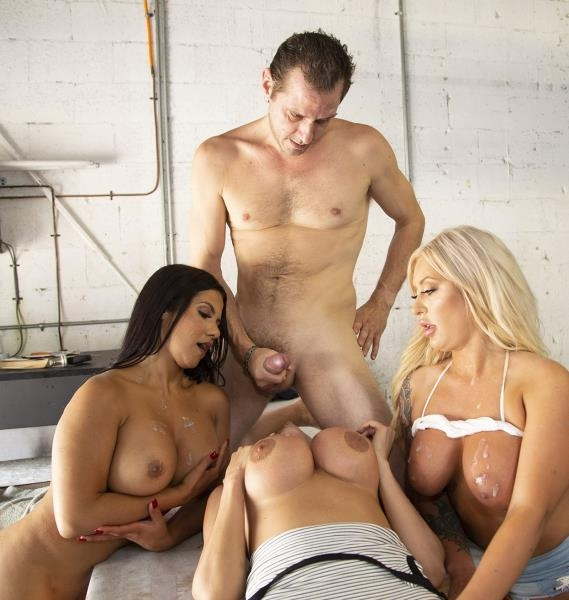 Were Taking Over - Ariella Ferrera, Rose Monroe, Brandi Bae, Stella Ray | FuckTeamFive, BangBros | 2018 | SD | 279 MB