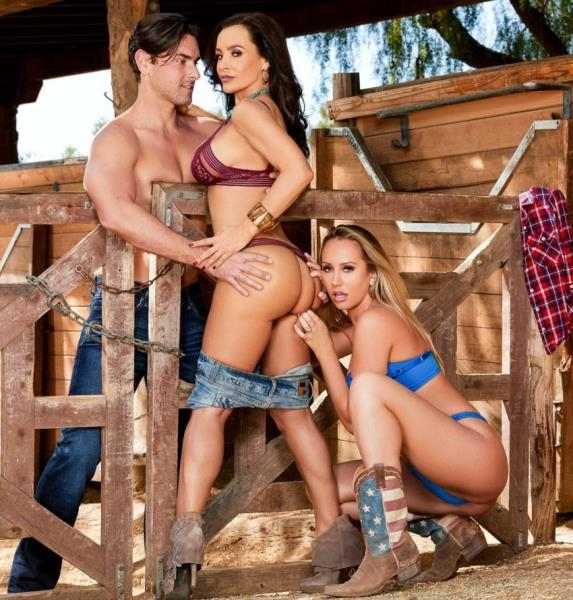 Lisa Anns Cowgirl And Cowpoke Threesome - Lisa Ann, Brett Rossi | 2017 | HD | 1.15 GB