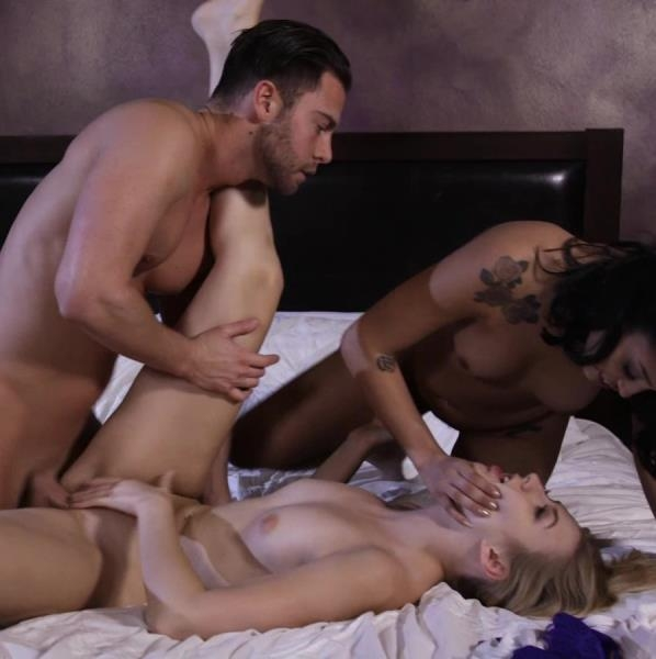 Hot Bedroom Threesome With Alexa Grace And Vanessa Sky - Alexa GraceVanessa, Sky | ThirdMovie, Ztod | 2018 | FullHD | 1.08 GB