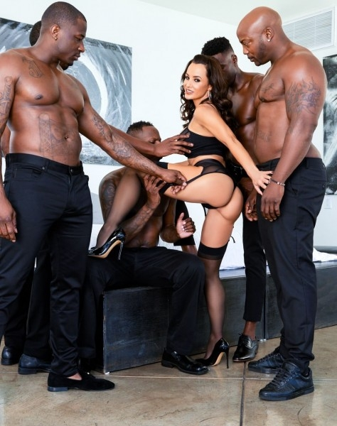 Lisa Anns Interracial DP BBC Gangbang - Lisa Ann | EvilAngel | 30.11.2018 | FullHD | 1.57 GB