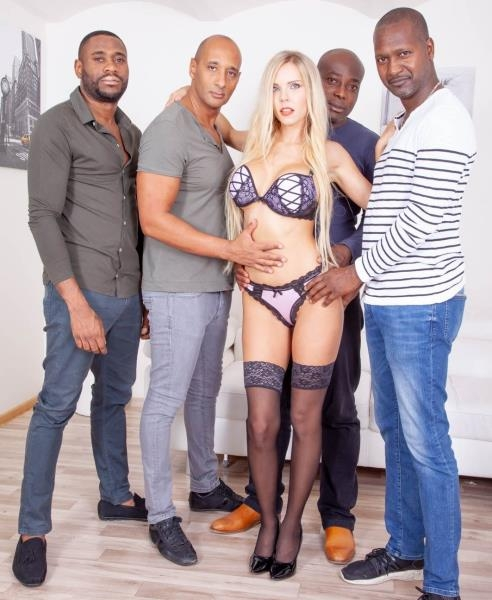 Four Black Studs for Blonde Nympho - Florane Russell | Private | 2018 | FullHD | 2.07 GB