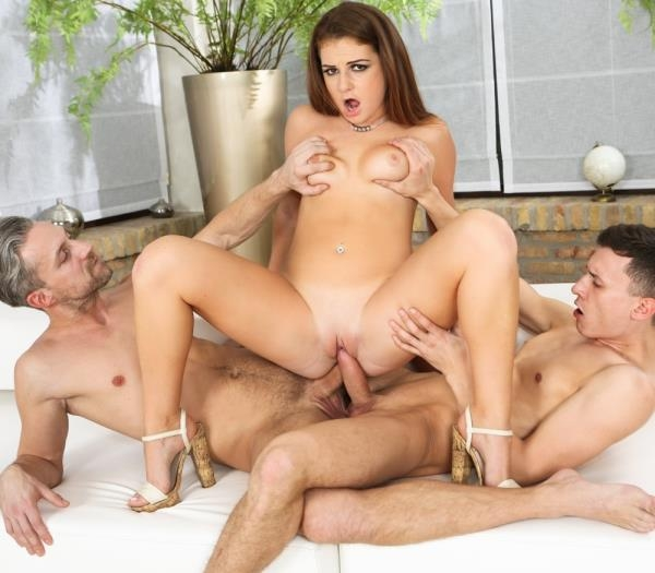Milas First Threesome - Mila A | DPFanatics, 21Sextury | 2019 | FullHD | 2.54 GB