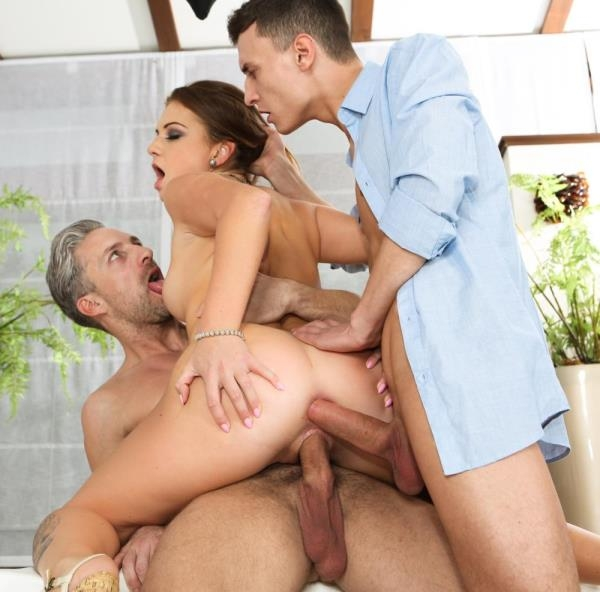 Milas First Threesome - Mila A | DPFanatics, 21Sextury | 2019 | SD | 805 MB