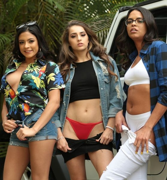Road Trip Triple Threat - Vienna Black, Sofie Reyez, Serena Santos | Realitykings | 2019 | FullHD | 1.60 GB