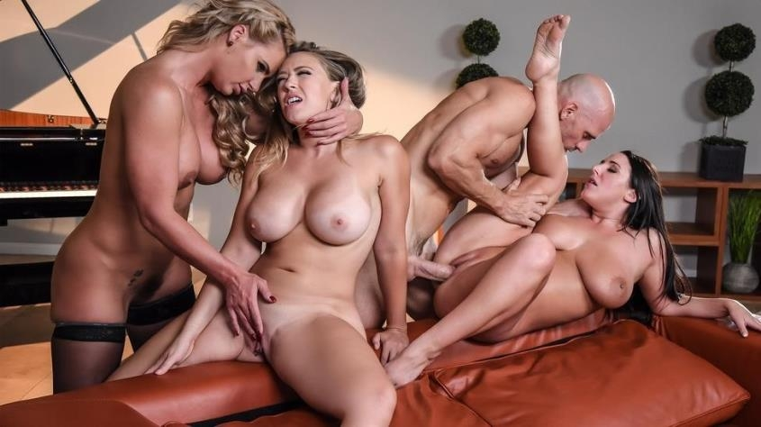 Dinner For Cheats - Angela White, Kagney Linn Karter, Phoenix Marie | PornStarsLikeItBig | 2019 | HD | 891 MB