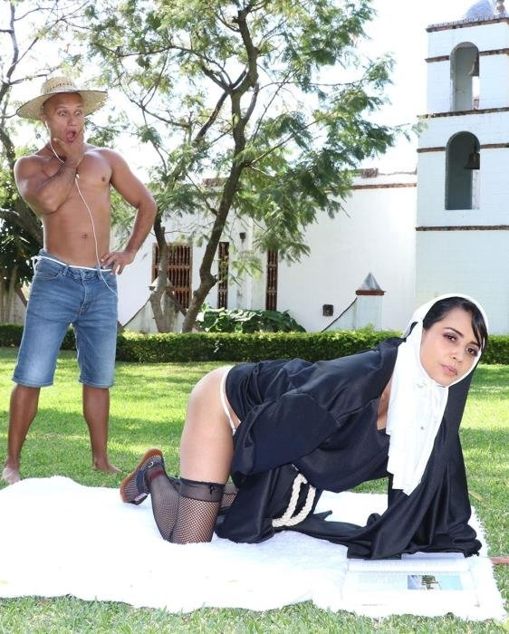 Dirty Nun Fucks The Gardener - Yudi Pineda | BangBrosClips, BangBros | 31.03.2019 | HD | 1.29 GB