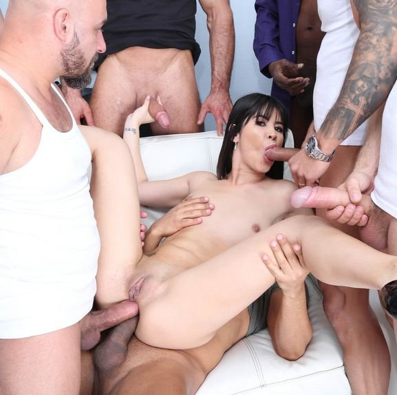 7 On 1 DAP Gangbang With Lady Dee Balls Deep Anal, Gapes, Creampie And Swallow GIO1050 - Lady Dee | LegalPorno | 13.05.2019 | SD | 1.13 GB