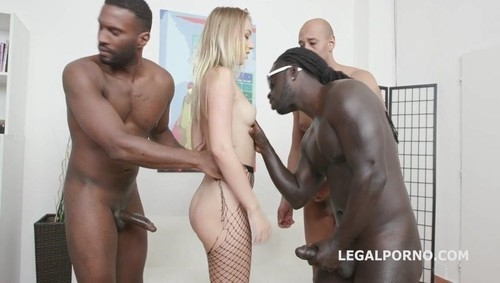 Hardcore - Kira Thorn, Mike, Tony Brooklyn, Yves Morgan, Dylan Brown, Freddy Gong | LegalPorno | 2019 | SD | 783 MB