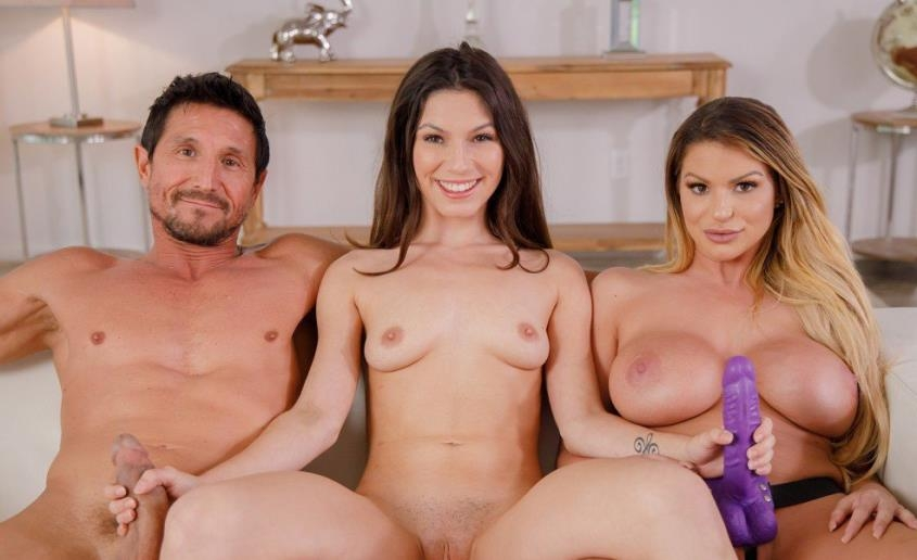 Learning To Fuck With My Step-parents! - Brooklyn Chase, Gianna Gem | BangBros, FilthyFamily | 2019 | SD | 325 MB