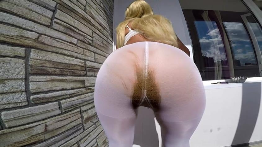 White stockings full of shit - scatdesire | 2019 | FullHD | 840 MB