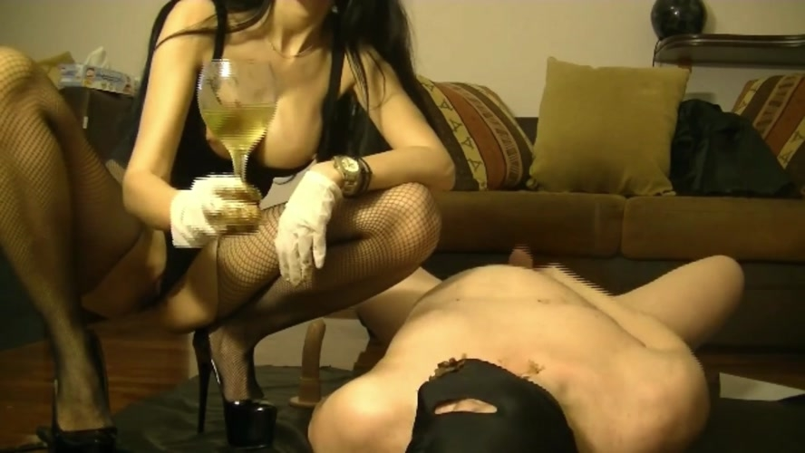 Scat dommes and cock sucking whore girl - GoddessAndreea  | 2020 | FullHD | 987 MB
