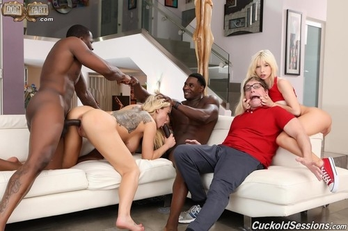 Two Big Black Cock - Kenzie Reeves, Olivia Austin | CuckoldSessions | 2019 | SD | 429 MB